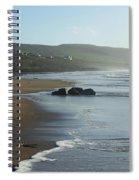 Fanore Beach Clare Spiral Notebook