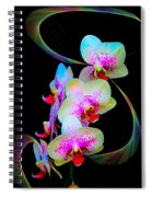 Fantasy Orchids In Full Color Spiral Notebook