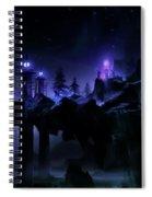 Fantasy Scene Spiral Notebook