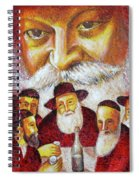 Farbrengen With The Rebbe Spiral Notebook