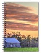 Farm From Beyond 2 Spiral Notebook