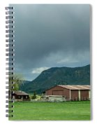 Farm House Spiral Notebook