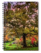 Farm In The Blue Ridge Smoky Mountains Spiral Notebook