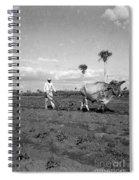 Farmer Plowes Field Spiral Notebook