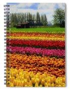 Farming Tulips Spiral Notebook
