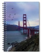 Feel The Wind Spiral Notebook