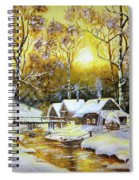 Feerie Winter Spiral Notebook
