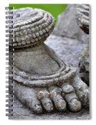 Feet Only Spiral Notebook