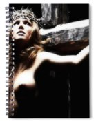 Female Christ Spiral Notebook