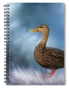 Female Mallard Duck Spiral Notebook