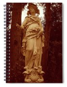 Goddess Statue Spiral Notebook