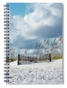 Fences In The Sand Spiral Notebook