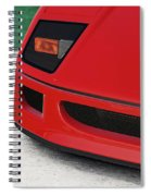 Ferrari F40 - 09 Spiral Notebook