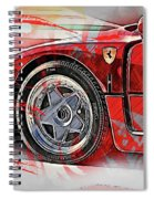 Ferrari F40 - 11 Spiral Notebook
