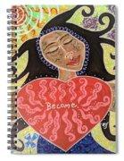 Fiam, Goddess Of Becoming Spiral Notebook