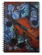Fiddle 1 Spiral Notebook