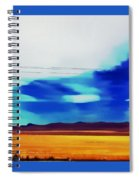 Fields Of Colorado Spiral Notebook