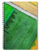 Fields Of Green Spiral Notebook