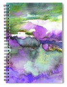 Finca On The Costa Blanca 01 Spiral Notebook