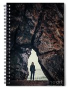Find The Light Spiral Notebook