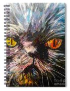 Fire Eyes Spiral Notebook