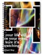 Fire With Color Spiral Notebook