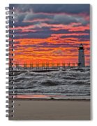 First Day Of Fall Sunset Spiral Notebook