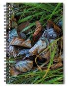 First Frost In Sweden Spiral Notebook