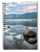 First Light Reflection Spiral Notebook
