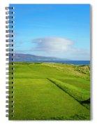 First Tee At Brora Golf Club, Moray Spiral Notebook