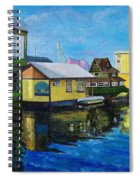 Fisherman's Wharf In Victoria Spiral Notebook
