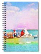 Fishing Bandit Spiral Notebook