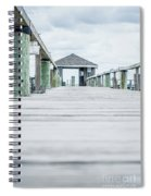 Fishing Dock Cape Cod Spiral Notebook