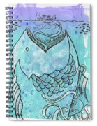 Fishing For Adventure Spiral Notebook