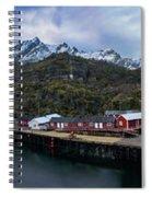 Fishing Village A On Lofoten Spiral Notebook