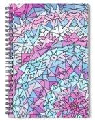 Comfortably Cosmic, In Lavendar Spiral Notebook