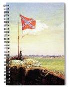 Flag Of Fort Sumter Spiral Notebook