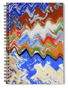 Flaking Paint Spiral Notebook