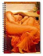 Flaming June Spiral Notebook