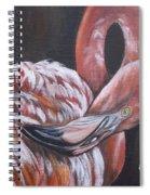 Flamingo Grace Spiral Notebook