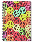 Flares Of Freedom Spiral Notebook
