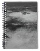 Flat Water Surface Spiral Notebook