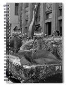 Float Maidens Spiral Notebook