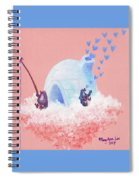 Floating Island Home Spiral Notebook