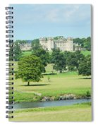 Floors Castle And River Tweed Spiral Notebook