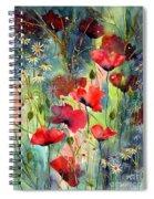 Floral Abracadabra Spiral Notebook