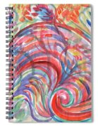 Floral Abstraction Spiral Notebook