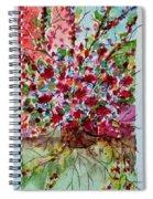 Floral Life Spiral Notebook