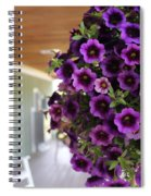 Floral Porch Sitting Spiral Notebook