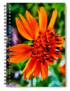 Floral Rush Hour Spiral Notebook